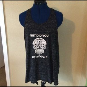 Canvas Graphic Tank Top